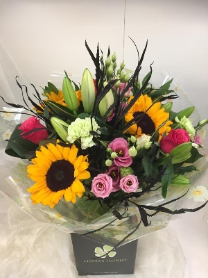 Sunflower Delight Handtied