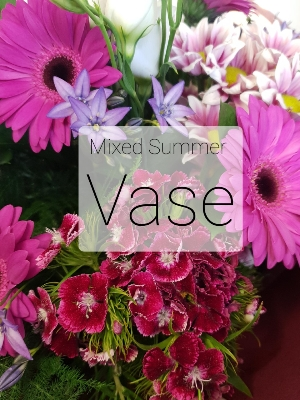 Mixed Summer Vase