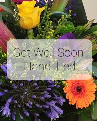 Get Well Florist Choice Hand Tied