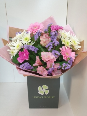 Mother's Day Sweet Pastel Hand Tied