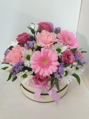 Mother's Day pastel Hatbox