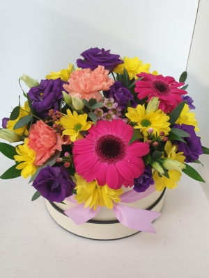 Mother's Day Vibrant Hatbox