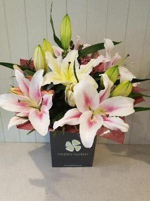 Luscious Lily Hand Tied
