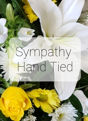 Sympathy Florist Choice Hand Tied