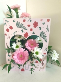 Pretty in Pinks Living Card